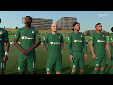 La Equidad vs Atlético Nacional  Liga Aguila FIFA 17 Directo