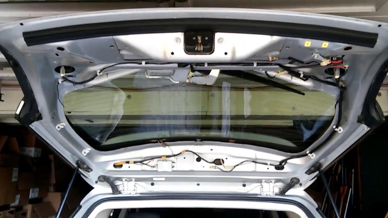 Subaru Outback 05  09, Rear Gate Wiring Harness Replace  YouTube