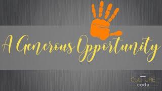 Kingdom House   A Generous Opportunity   Pastor Rob Meikle   January 24, 2021