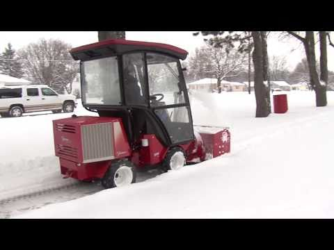 Sidewalk Snow Removal Equipment By Ventrac Doovi