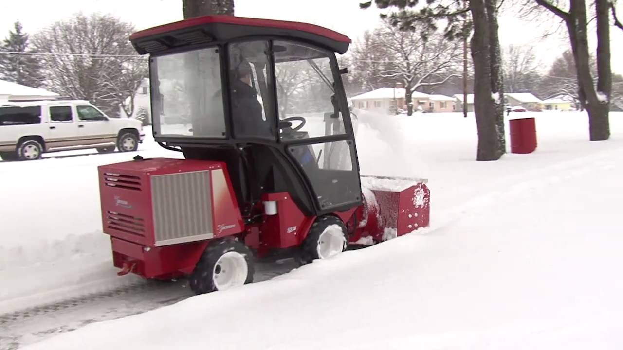 Sidewalk Snow Blower Youtube