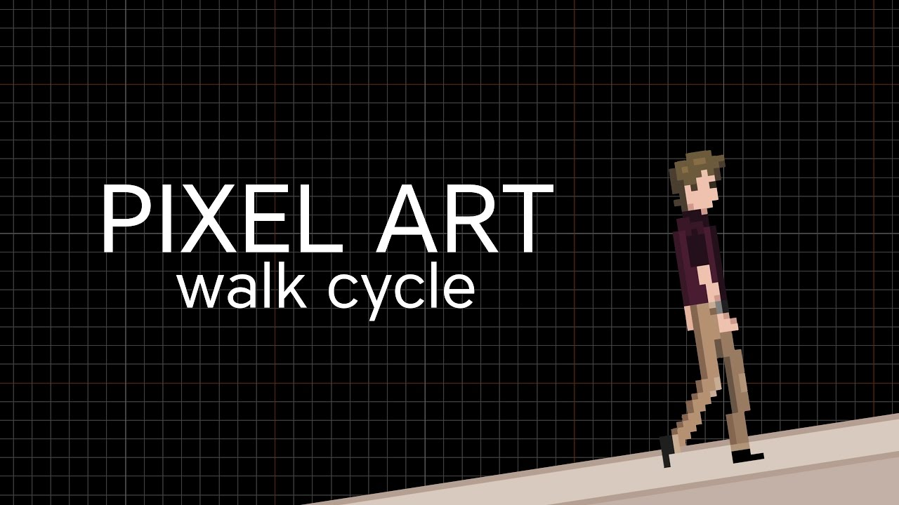 a0c289fed8 Pixel Art Walk Cycle Reference - YouTube