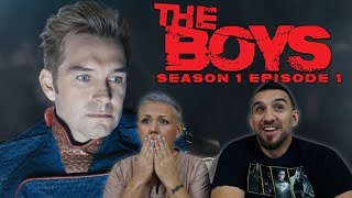 The Boys Season 1 Episode 1 'The Name of the Game' Premiere REACTION!!