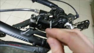 Замена тормозных колодок дискового тормоза на велосипеде.(В данном видео показан процесс замены колодок дискового гидравлического тормоза на примере бюджетной..., 2016-03-30T19:09:08.000Z)