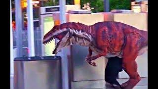 Giant T-Rex Prank