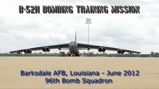 B-52H Training Mission from Barksdale AFB