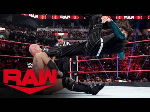 Jeff Hardy vs. Karrion Kross: Raw, Aug. 16, 2021