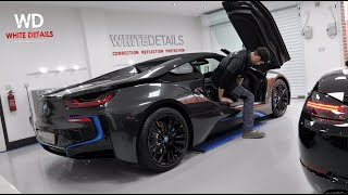 BMW i8 New Car Detailing - VLOG 065