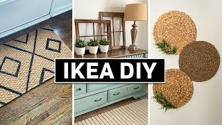 IKEA DIY HACKS ⚫ 2020 Affordable Home Decor