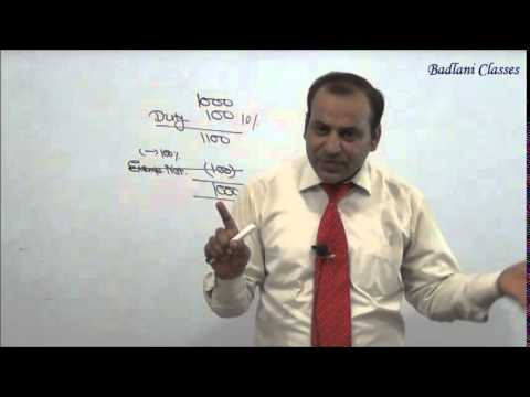 IDT - Indirect Tax - Central Excise Act, 1944 - Lecture 4