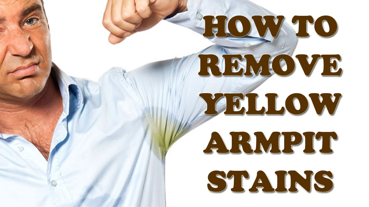 how to stop armpit stains