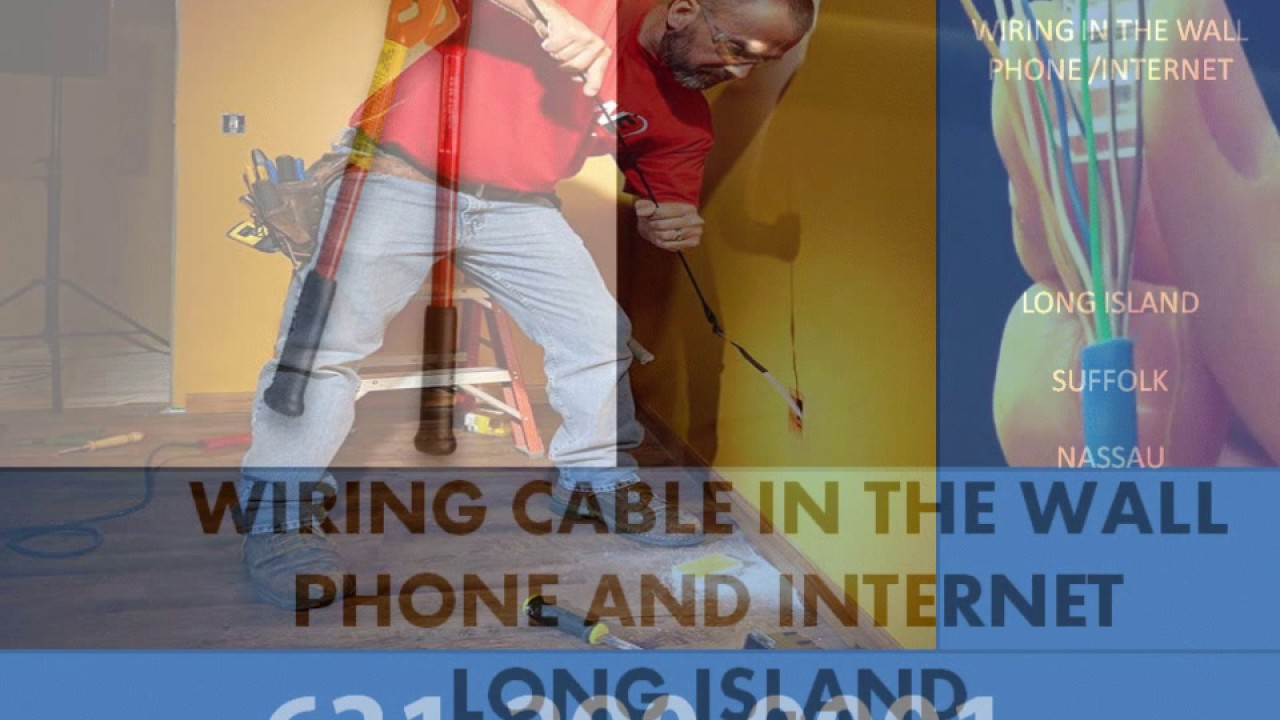 Free Estimate Home Office Business Phone Internet Cable Wiring Hidden In The Wall 631 290 9001