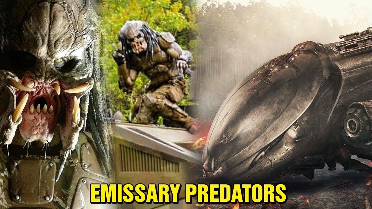 THE PREDATOR: DELETED SCENES - EMISSARY PREDATORS - THE ARK #1