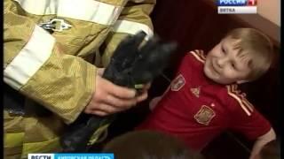 Урок пожарной безопасности в детском саду №31 города Кирова (ГТРК Вятка)