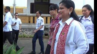 Gambar cover Keseruan Ibu Iriana Jokowi Beserta Istri Menteri Saat Kunjungi Lawang Sewu