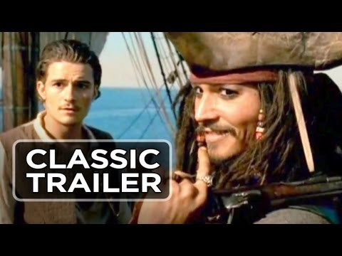 Pirates of the Caribbean: The Curse of the Black Pearl trailers