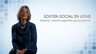 Lise Renaud - Soutien social en ligne - Autisme : besoins exprimés par les parents