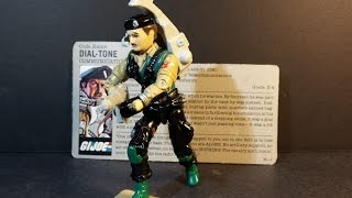 HCC788 - 1986 DIAL-TONE - vintage G. I. Joe toy review! HD