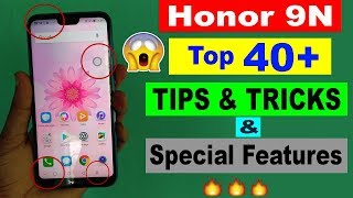 Honor 9N Tips and Tricks   Top 40+ Hidden Special Features in Hindi🔥🔥
