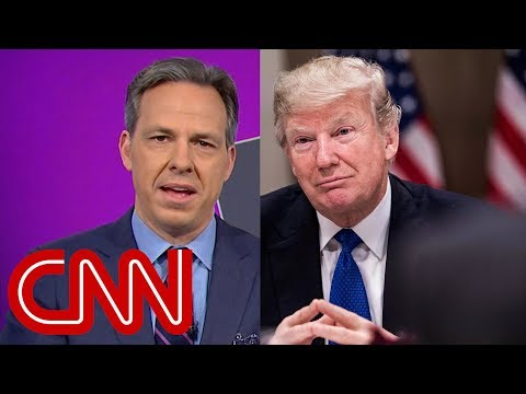 Tapper fact checks Trump's climate change claims