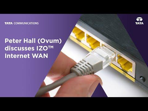 Peter Hall (Ovum) discusses IZO™ Internet WAN