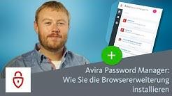 Avira Password Manager - Wie Sie die Browsererweiterung installieren
