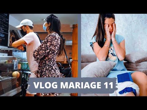 BLESSÉE POUR MON MARIAGE 😢je vous donne des nouvelles | #VLOGMARIAGE 11