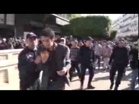 Manifestation Barakat violemment réprimée à Alger
