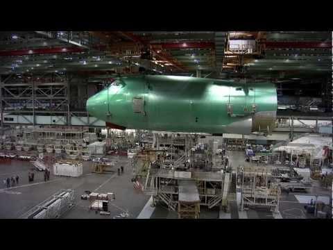 Boeing 747-8 Wing Design