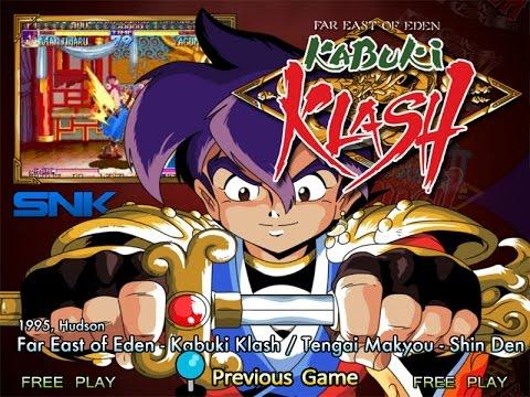 Far East Of Eden: Kabuki Klash (Arcade) - Sengoku Manjimaru