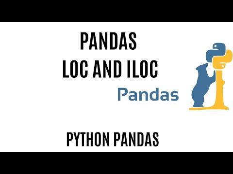 Pandas Loc And Iloc   Pandas Loc Tutorial   Pandas Iloc Slicing   Loc Vs Iloc