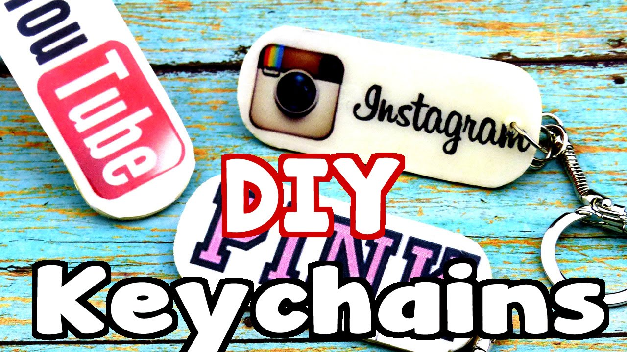 DIY Crafts  How To Make Keychains - YouTube dd077d38cd