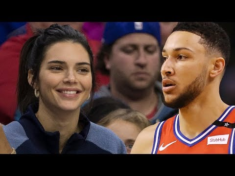 Kendall Jenner Trying To RECRUIT Ben Simmons To LA Lakers!