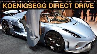 Koenigsegg Direct Drive - Koenigsegg Regera - Explained