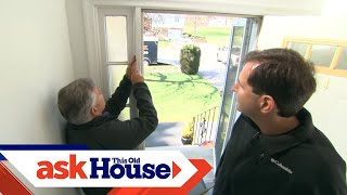 How to Replace Sidelights on a Front Door | Ask This Old House