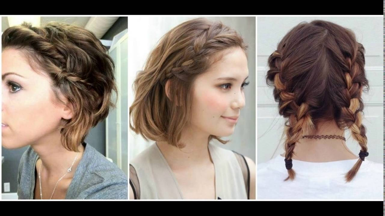 peinados para cabello corto i imagenes i