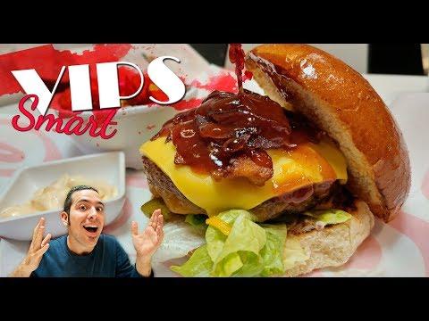 #Videoanálisis | Probando la VIPS Burger en VIPS Smart