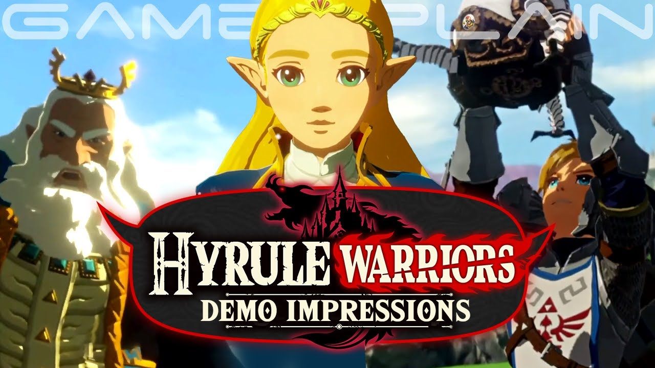 Hyrule Warriors Age Of Calamity Demo Impressions Story Combat Bad Framerate More Discussion Youtube