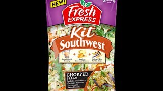 What's for dinner? Fresh Express Southwest Salad Kit