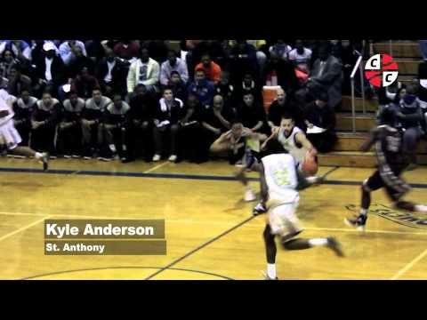 Kyle Anderson helps extend St. Anthony win streak to 40