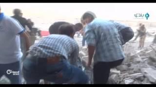145 شهيدا حصيلة يومين من القصف الروسي المتواصل على حلب