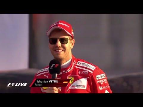 F1 Live London 2017 - Sebastian Vettel's full on stage interview