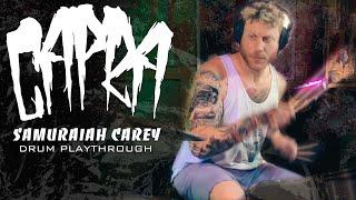 Capra – Samuraiah Carey – Drum Playthrough (Blacklight Media Records)