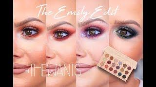 4 Looks 1 Palette! | EmilyNoel83 X Makeup Revolution #TheWants