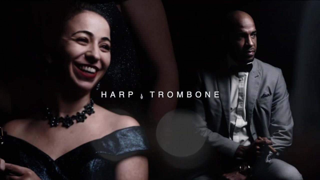 DUO HARP & TROMBONE/ WHAT A WONDERFUL WORLD