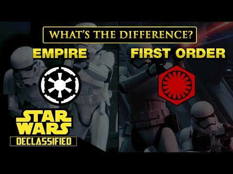 The Galactic Empire and The First Order: What