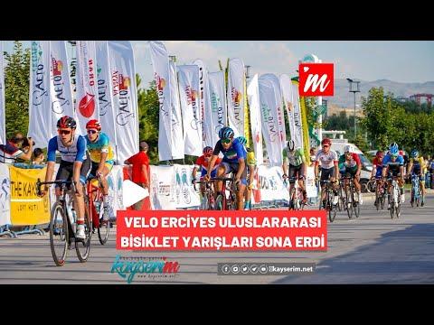 Velo Erciyes Uluslararası Bisiklet Yarışları Sona Erdi