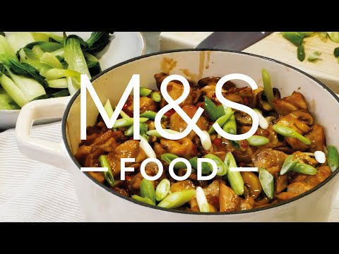 Chris' Chinese-Style Clay Pot Chicken Rice   M&S FOOD