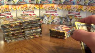 Opening TWO XY FlashFire Booster Boxes **72 Booster Packs** Mega Charizard EX! X and Y Flash Fire