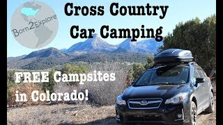 Car Camping | BLM and Free Campsites